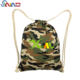 Camouflage Backpack Bag Fashion Military Camouflage Canvas School Drawstring Backpack Bag