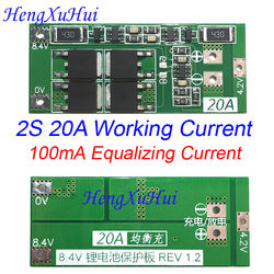 2S20A Li-ion Battery PCB Protection Board  (  Equalized Charging Version )