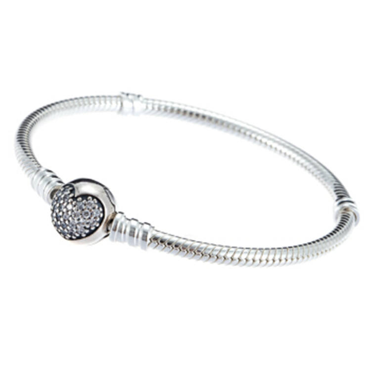 Factory Wholesale female bracelet 925 sterling silver charm bracelet fashion jewelry