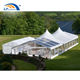 New style mixed clear marquee party tent with high peak for wedding