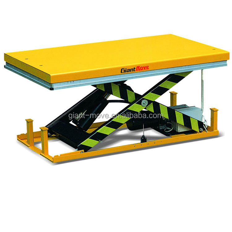 MJ-A Series Hydraulic Reasonable Price Heavy Duty Design Mini Scissor Lift Table Stationary Lift Table