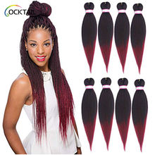 Private label EZ braid Kanekalon fiber hot water setting synthetic crochet braid hair extension for black people