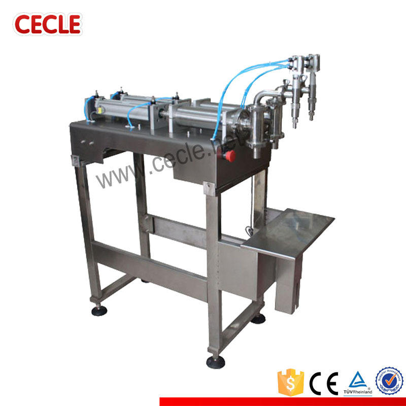 manual carbonated soft drink filling machine