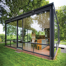 Gaoming Thermal break glass house designs garden lowes sunrooms, prefabricated glass house