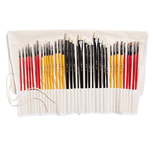 professional Drawing Wood Artist Acrylic Oil Watercolor Paint Brush Set