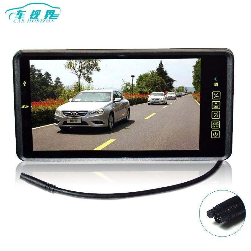 9 Inch Car Mp4 MP5 Auto Video Player Auto Parking Monitor Support Rear Camera SD USB Flash Built in Speaker
