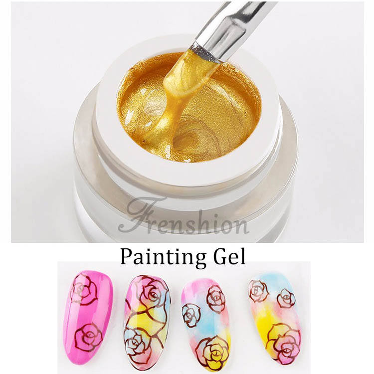 2019 año de uñas de Gel pintura 8 ml de Gel UV laca de acrílico DIY polaco de arte <span class=keywords><strong>diseño</strong></span>