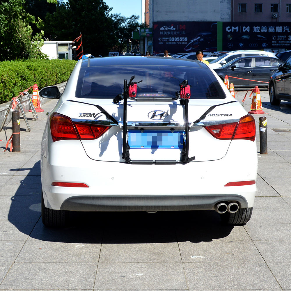 multifunctional car bicycle rack for 3 bicycles on car