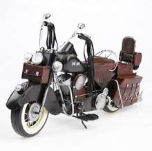45CM Antique Metal Craft Handmade Vintage Motorcycle Model For Home Decoration And Business Gifts
