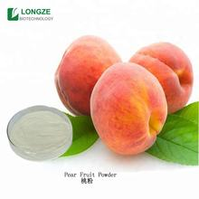 100% natural peach fruit juice concentrate powder extract