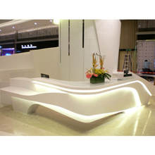 guangzhou modern small office contemporary reception desk
