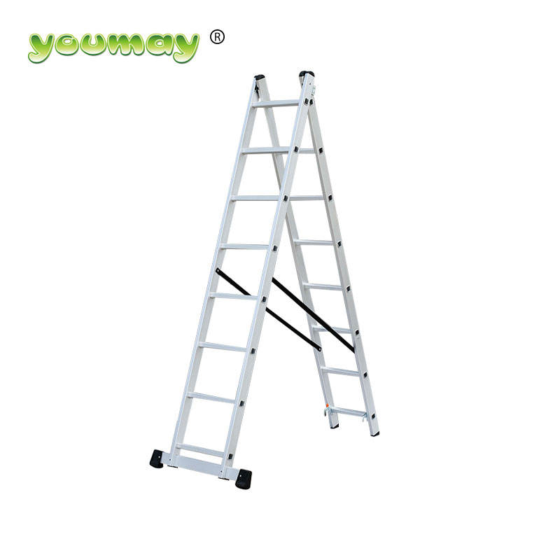 Metal Extension Keuken Boom Stand Telescopische Aluminium Ladder