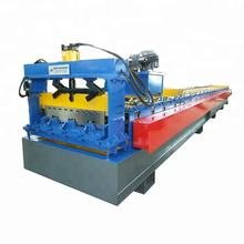 Automatic Metal Steel Floor Decking Roll Forming Line for Building Materials
