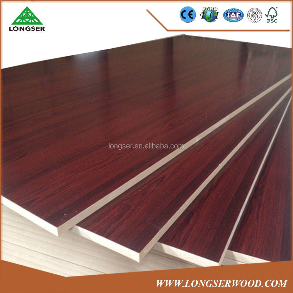 Laminado 8mm melamina tablero MDF