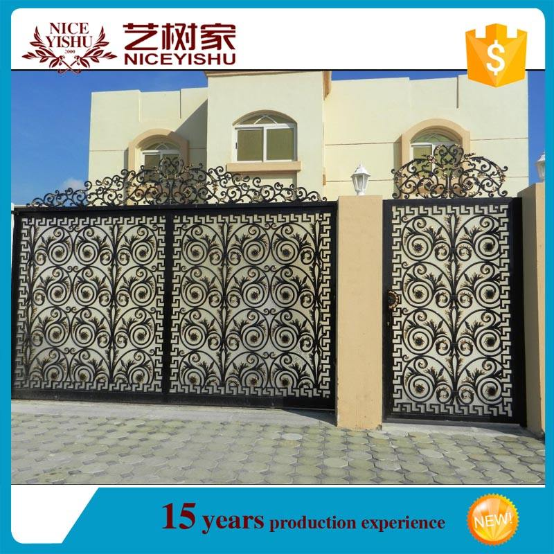 modern main gate designs/New Design Cast Iron/ Aluminium/ Stainless Steel Gate Models