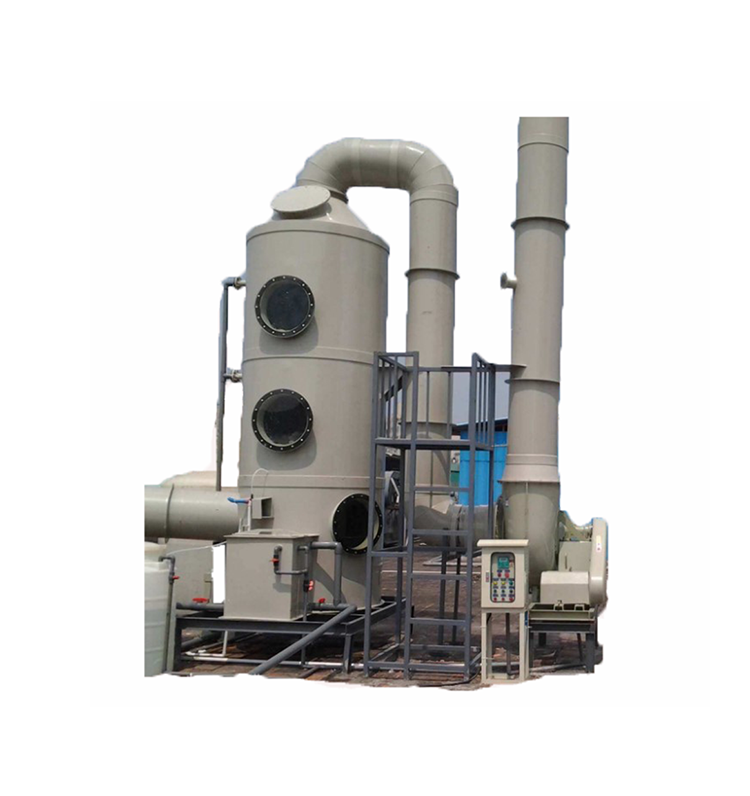High Performance venturi wet scrubber for waste gas treatment