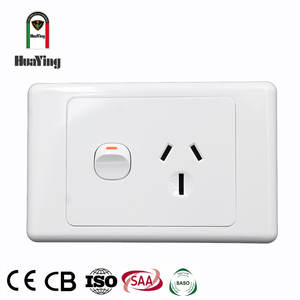 6pin twin electrical 6 홀 벽 outlet 스 socket au nz 두 번 파워 포인트