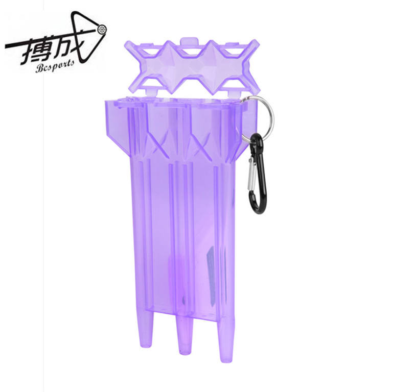 New style plastic dart case, different colours