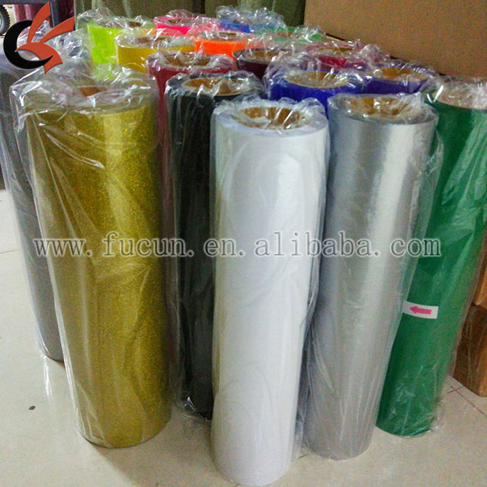 PU white color heat transfer vinyl for garment