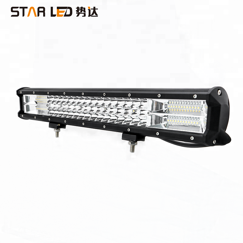 288W 3 Row high power 20inch Triple Row crees Truck LED work Light Bar for car