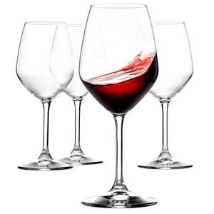 Vente chaude Extra Large En Cristal De Style Italien Bordeaux Rouge Verres À Vin