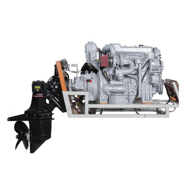 Water cooling 115 - 160HP ZT150A sterndrive Stern machine marine diesel engine