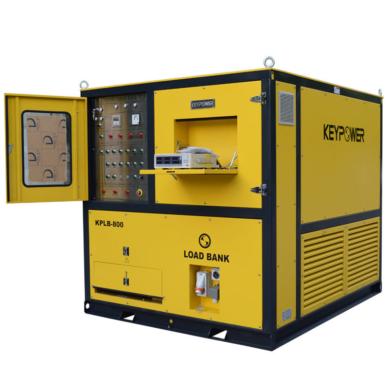 KEYPOWER 800 kw load bank for generator testing with generator tester