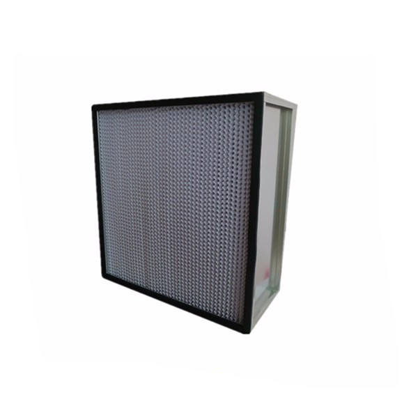 Galvanized Iron GI Frame H13 Pleated Panel Air Filters for Air Conditioning System