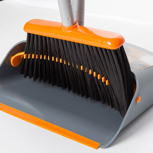 Professional Manufacture Household Cleaning Tools Floor Dustpan and Broom Set Rubber Broom