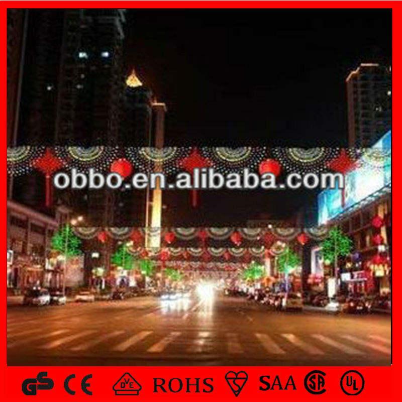 китайский стиль коммерческой через улицу мотив света