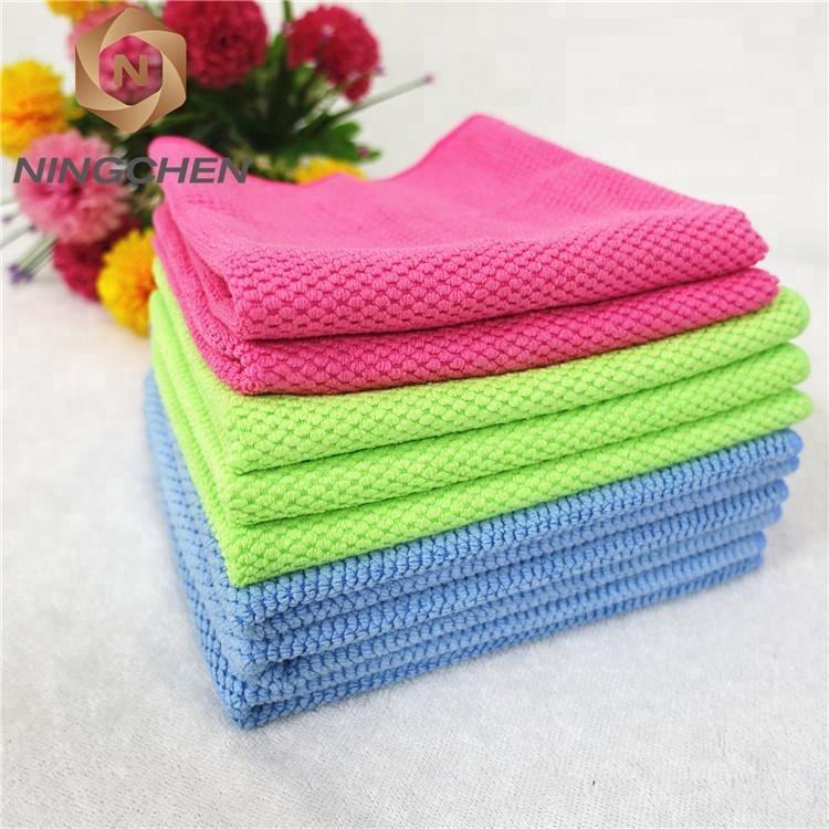 "wholesale Ultra Soft Thick Plush 12""x12"" 80 polyester 20 polyamide microfiber towel/Quick dry microfiber sports towel"