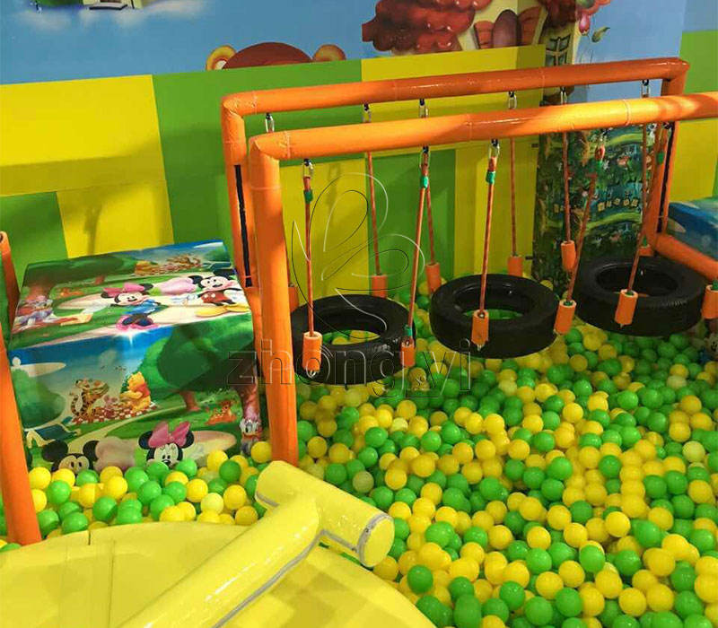 Eco-Friendly Cheap Mini Kids Modern Indoor Playground