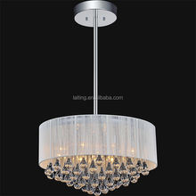 Guangdong Patriot Drum Crystal Chandelier Lighting