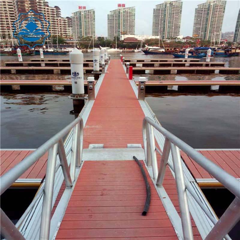 Aluminum Structure Boat Accessories Gangway marine supplier
