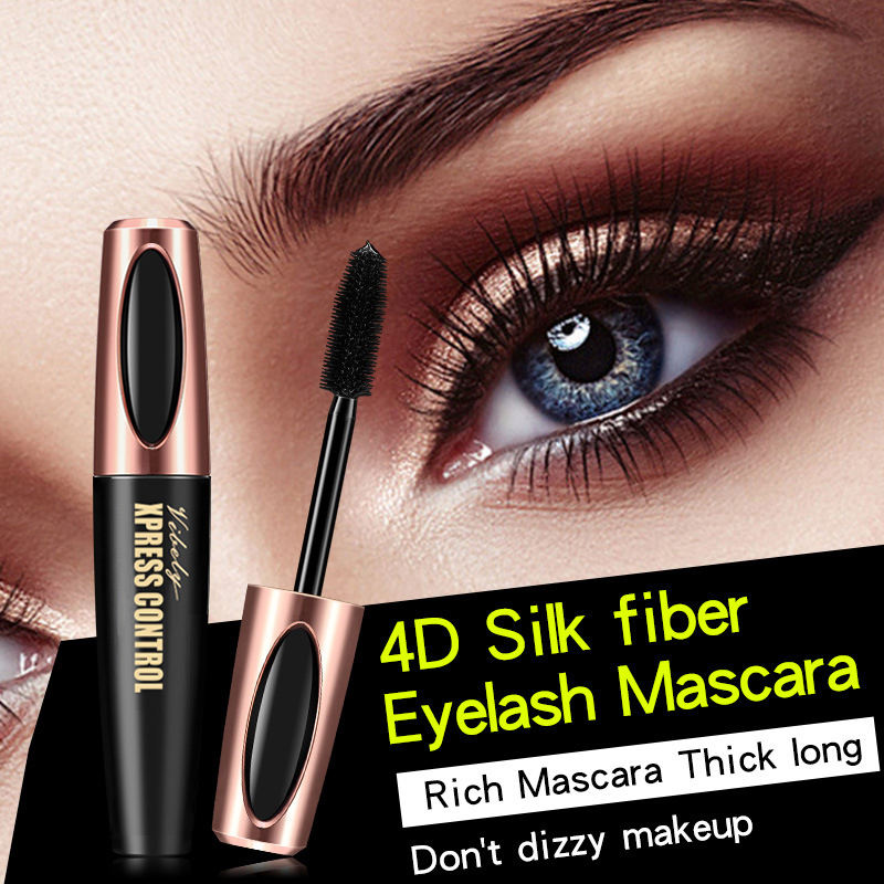Hot Selling Eyelash Lengthening Quick Drying Long Lasting Waterproof 4D Fibre Mascara OEM