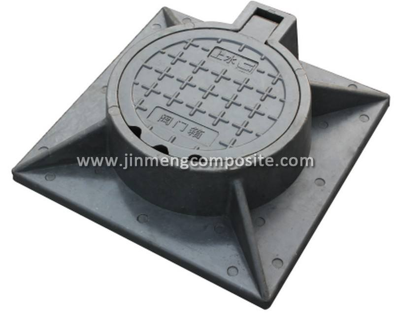 petrol station smc plastic manhole cover composite resin manhole cover for wholesales
