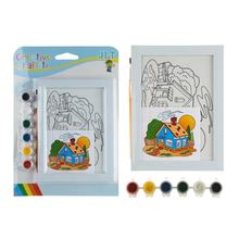 Educational kit painting toys kit diy craft diy oil painting drawing toy diy painting toys for kids