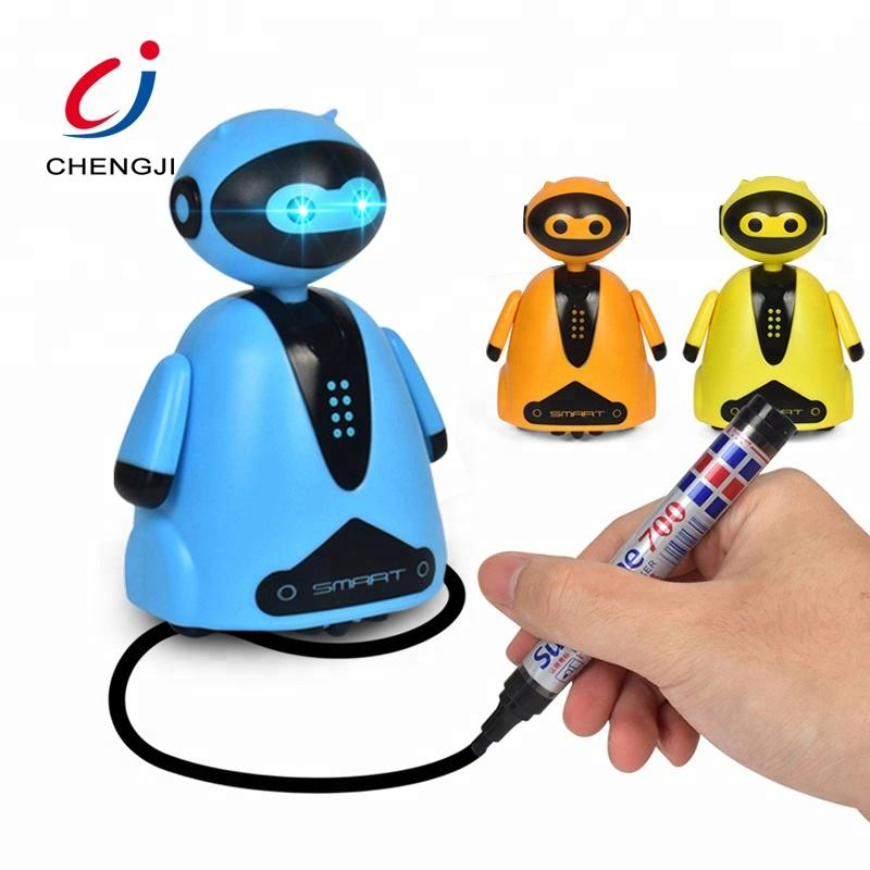 Hot sale plastic electronic educational intelligent rc toy small robot child toy