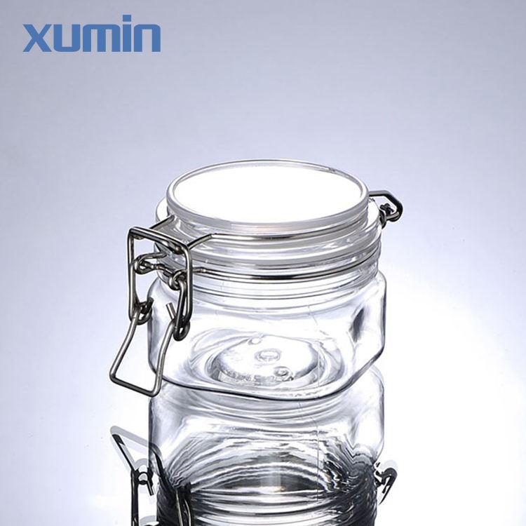 Торговли обеспечение квартет форма упаковки косметический крем 220 г ясно, ПЭТ Маска Для Лица Jar