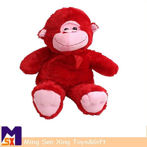 want to buy stuff toy from china stuffed red monkey toy
