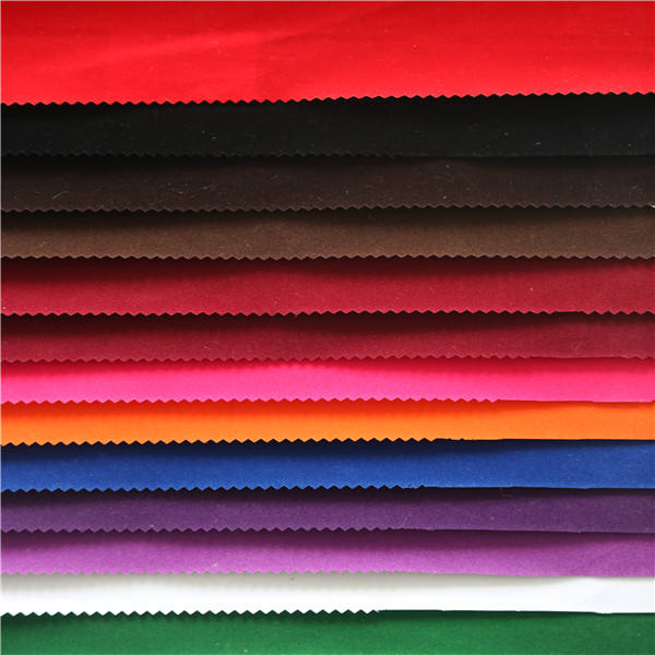 Velvet Flock Fabric / Non Woven Based Flocked Fabric For Jewellery Box / Case