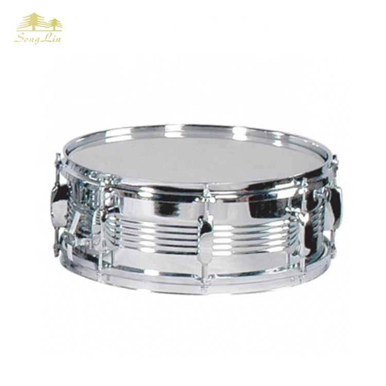 High grade <span class=keywords><strong>de</strong></span> madeira shell marching snare drum