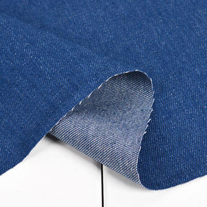 0,5m tela jeans azul pañuelo de algodón ligero firmemente denimstoff METERWARE