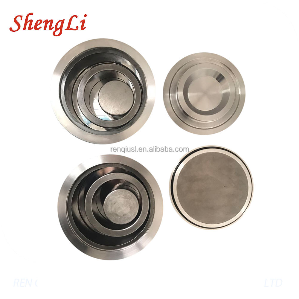 High Precision Tungsten Carbide Ball Grinding Jar for Lab Planetary Ball Mill Pot