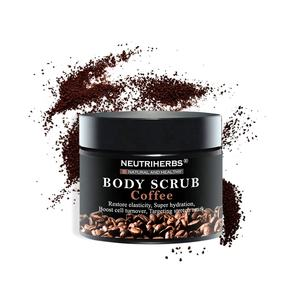 Private Label Skincare Neutriherbs Natural Herbal Moisturizing Coffee Korea Body Scrub For Women Skin Care