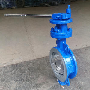 Metal Seat Ductile Iron Wafer Butterfly Valve