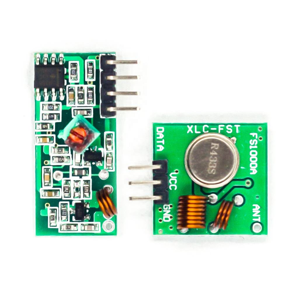 Wireless Transmitter Receiver Kit 433mhz rf module