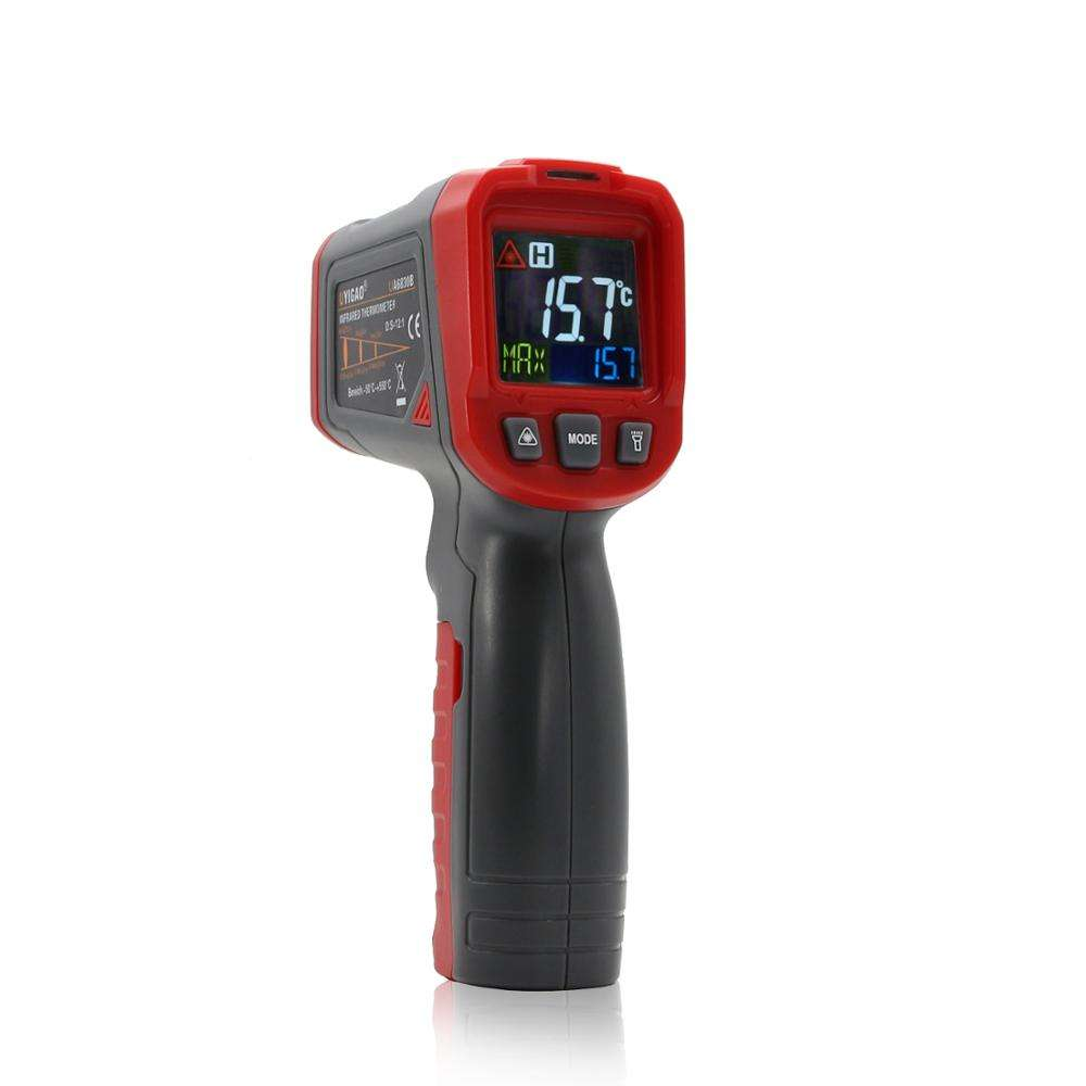 High Quality Industrial Mini Pocket Palm Compact Small Handheld Compact Infrared Thermometer
