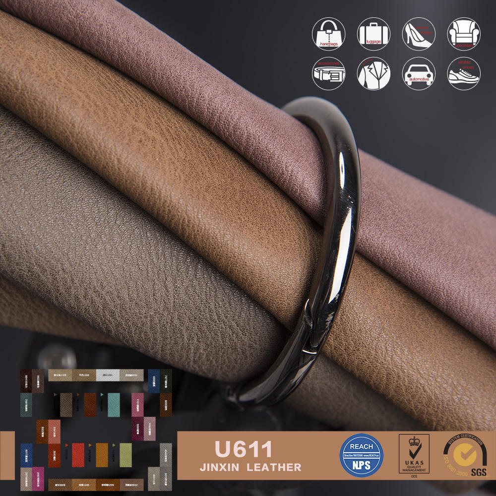 Imitation antique Fake PVC Leather for bag & embossed leather