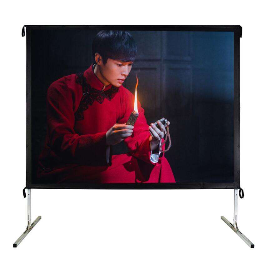 "100""200 300"" 400"" inch projector screen portable Fast fold projector screen Front Rear Outdoor Fast folding screen large size"